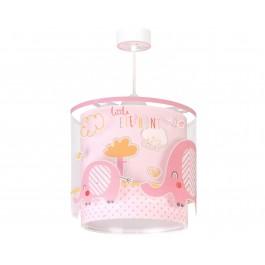 Little Elephant Pink παιδικό φωτιστικό οροφής Little Elephant Pink