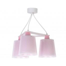 Vichy Pink κρεμαστό τρίφωτο οροφής Vichy Pink