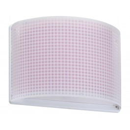 Vichy Pink απλίκα τοίχου διπλού τοιχώματος Vichy Pink