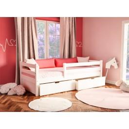 Καναπές Νatali Λευκό Οξιά Εφηβικό Δωματιο
