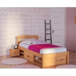 Πολυμοφικό Κρεβάτι Spicy Μασίφ Ξύλο Οξιάς Εφηβικό Έπιπλο