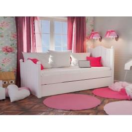 Κρεβάτι Μονό Rose  Εφηβικό Δωμάτιο