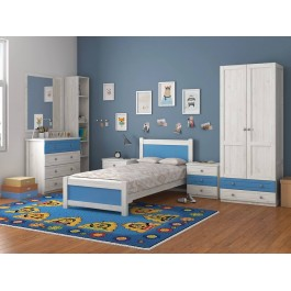 Κρεβάτι Μονό N145 Εφηβικό Δωμάτιο