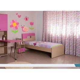 Κρεβάτι Μονό Αριάδνη Εφηβικό Δωμάτιο