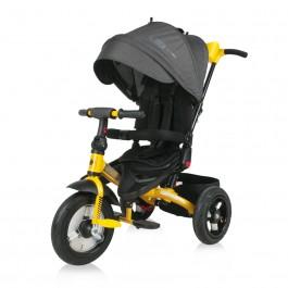 Ποδηλατάκι τρίκυκλο jaguar air wheels black&yellow lorelli 10050392101