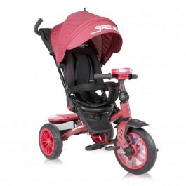 Ποδηλατάκι τρίκυκλο speedy air wheels red lorelli 10050432107