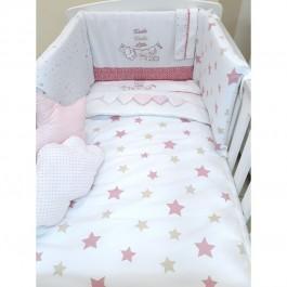 Σετ Προίκας Happy Stars Pink  Baby Star