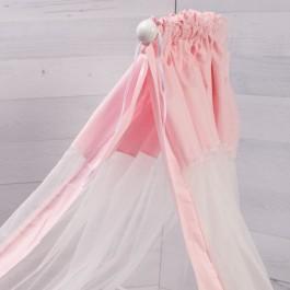 Κουνουπιέρα ροζ