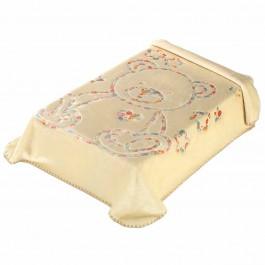 Κουβέρτα κούνιας 3D art baby I04 μπεζ 110x140