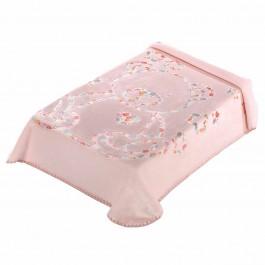 Κουβέρτα κούνιας 3D art baby I04 ροζ 110x140