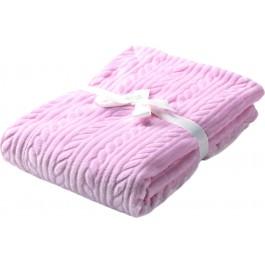 Κουβέρτα κούνιας mimos G84  morven ροζ (110x140)