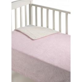 Κουβέρτα κούνιας capricho B27 ροζ morven 8424488818220