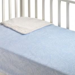 Κουβέρτα κούνιας capricho B27 σιέλ morven 8424488818114