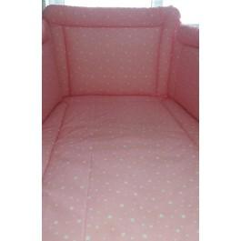 Σετ Προίκας Αστεράκι Ροζ Λευκα είδη/Προίκα