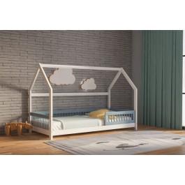 Παιδικός καναπές κρεβάτι GENIUS λευκό οξιά Saltas Εφηβικό Βρεφικό Δωμάτιο Μοντεσσόρι