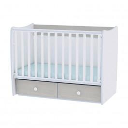 Μετατρεπόμενο κρεβάτι matrix new white blue lorelli 10150490033A