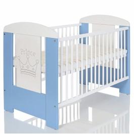 Βρεφικό κρεβάτι just baby lucky prince σιέλ (JBF.31100.BLUE)