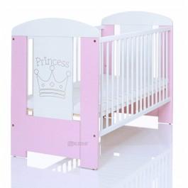 Βρεφικό κρεβάτι just baby lucky princess ροζ (JBF.31100.PINK)