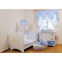προεφηβικό κρεβάτι Πάρης  Βρεφικό Δωμάτιο Asterias
