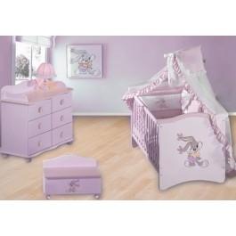 Προεφηβικό Κρεβάτι Δίας Βρεφικό Δωμάτιο