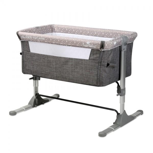 Λίκνο sleep n care grey elephant lorelli 10080431901