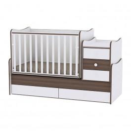 Πολυμορφικό κρεβάτι maxi plus καφέ lorelli  10150300026A