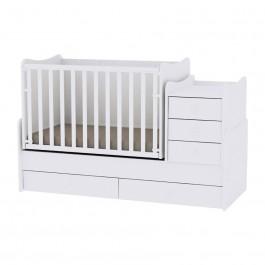 Πολυμορφικό κρεβάτι maxi plus λευκό lorelli 10150300024A