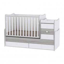 Πολυμορφικό κρεβάτι maxi plus γκρι lorelli 10150300030A