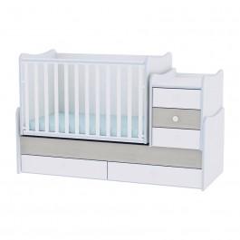 Πολυμορφικό κρεβάτι maxi plus γαλάζιο lorelli 10150300033A