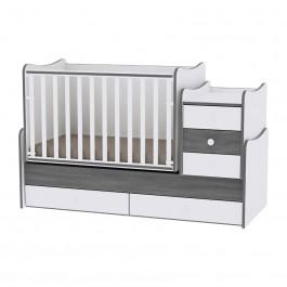 Πολυμορφικό κρεβάτι maxi plus vintage gray lorelli 10150300034А