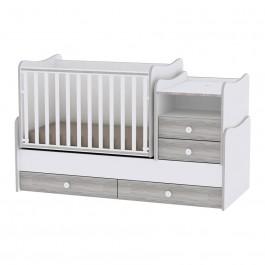 Πολυμορφικό Έπιπλο Combo White Artwood Lorelli Βρεφικό Δωμάτιο lorelli 10150560030A
