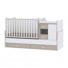 Πολυμορφικό Έπιπλο Minimax White Amber Lorelli Βρεφικό Δωμάτιο